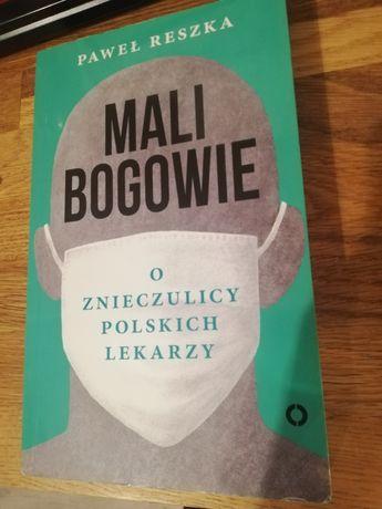 Książka Mali Bogowie, Paweł Reszka