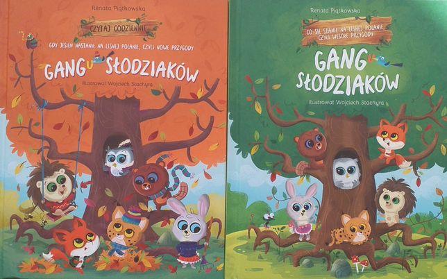 GANG SŁODZIAKOW cz 1 i 2 nowe książki