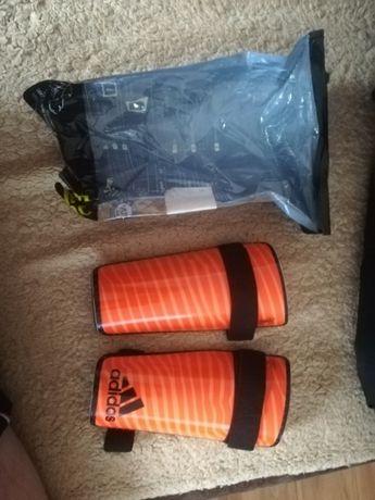 Ochraniacze pilkarskie Adidas rozmiar L