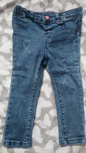 Spodnie Jeansy rurki Reserved 86