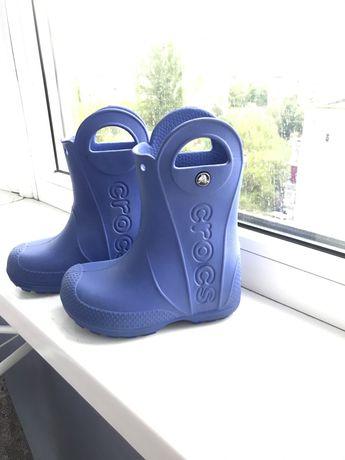 Продам резиновые сапожки Crocs C8
