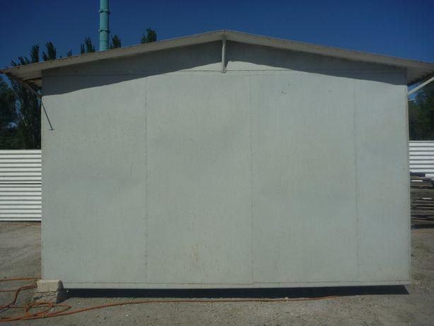 Металлический цельносварной гараж