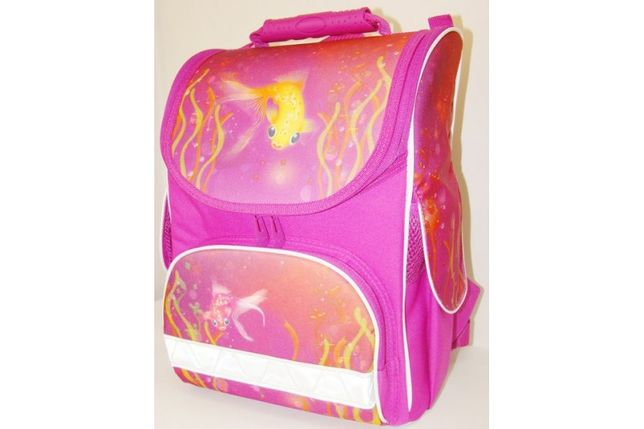 Ранец рюкзак школьный Tiger Nature Quest 2801 Рыбка