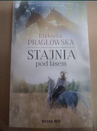 """""""Stajnia pod lasem"""" Elżbieta Pragłoswka książka obyczajowa"""