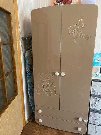 Детская мебель кроватка шкаф пеленатор