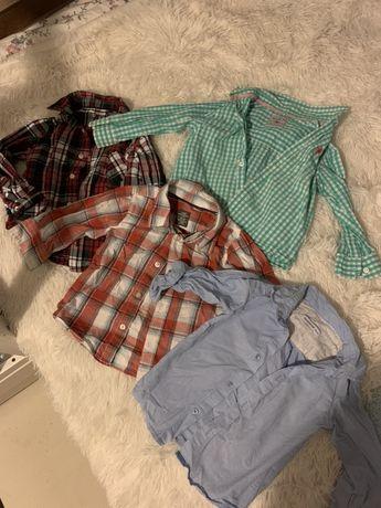 Koszula 4 pary koszul hm reserved 86/92