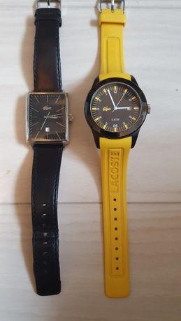 Dwa zegarki Lacoste.