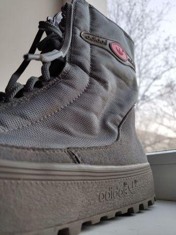 Зимние ботинки Adidas Zug,Vintage 80s, Yugoslavia как Reebok Puma Nike