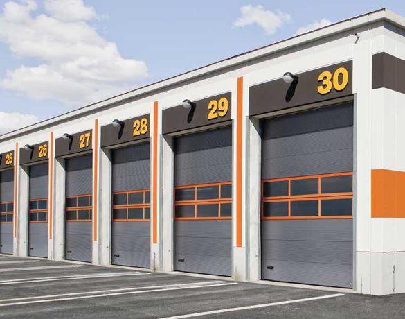 Brama Przemysłowa Garażowa Segmentowa Drzwi garażowe Bramy na wymiar