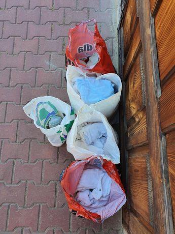 Ubranka niemowlęce zestaw mega paka 56 62 68 śpioszki body buciki