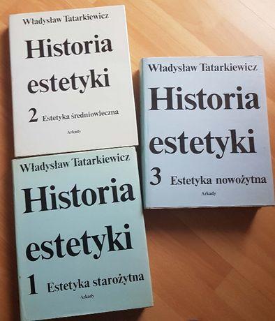 Historia estetyki TATARKIEWICZ t. I-III