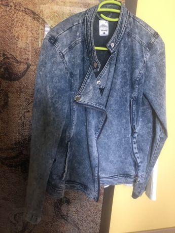 Katanka kurtka jeansowa sinsay M