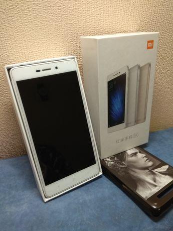 Xiaomi Redmi 3x + защитное стекло и чехол в подарок
