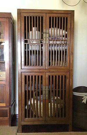 aparador, estante, armario, oriental, rustico, vintage