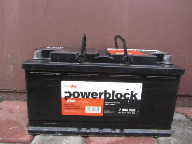 Akumulator Powerblock 90Ah 740A P+ 12V