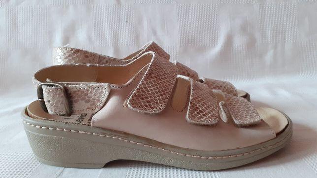 Belvida кожаные босоножки сандалии туфли. 38 р. 24,5