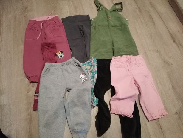 Spodnie i leginsy