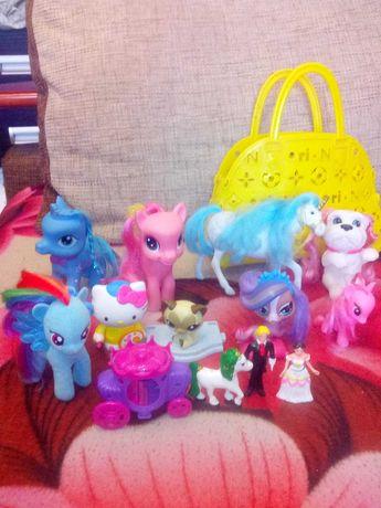 Поняшки,LPS,куколка Блайз,ЛОЛ и другие игрушки для девочек одним ЛОТОМ