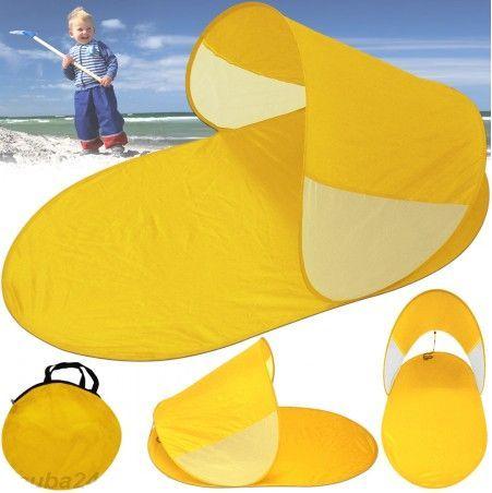 Abrigo de Praia Amarelo novo com saco