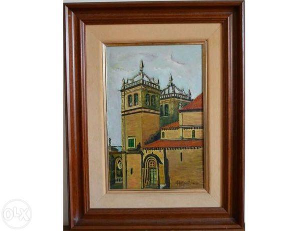 Sé de Braga - Tela pintada a óleo à mão
