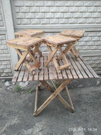 Стол стульчики, стулья, стул, деревянный