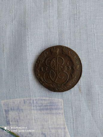 Продам старинную редкую монету
