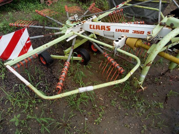 Zgrabiarka przewracarka Claas liner 350 ,fella th680