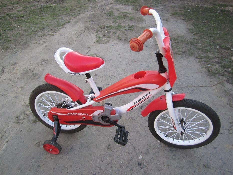 """Велосипед 16"""" стилизованный под мотоцикл, для мальчика 3-7 лет."""