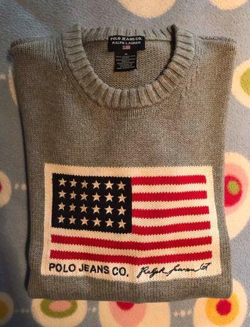 Camisola Ralph Lauren M cinza autentica e Polo Hugo Boss original L