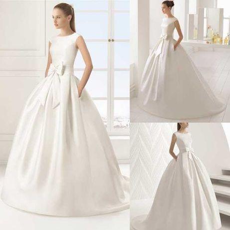 "Vestido de noiva ""Two"" da Rosa Clará, como novo"