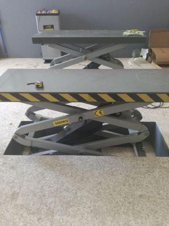 Elevador de tesoura com transp. e montagem incluída 3 ton PROMOCAO