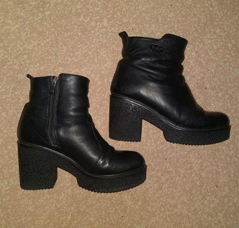 Ботинки, сапоги, зима, натур.кожа, 38 размер