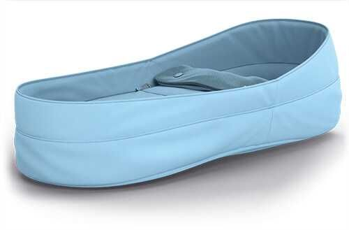 Ninho de recém-nascido para carrinho de passeio Quinny Azul-claro