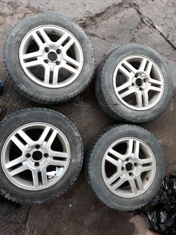 Продам диски з колесами на Форд фокус 4/108. 15