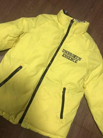 Куртка двухстороняя ZARA 152 см