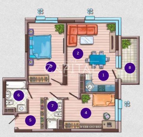 Продам 2 к. квартиру в ЖК Французский квартал 2, ул.Маккейна