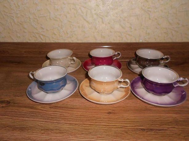 Кофейные чашечки с блюдцами СССР раритет