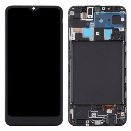 Ecrã com Frame para Samsung Galaxy A20 - Incell (TFT)
