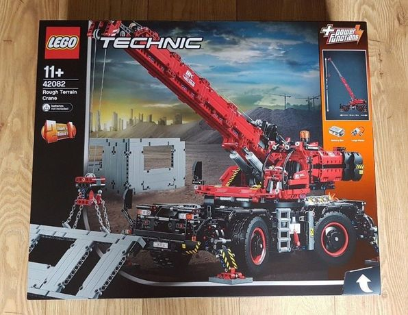 LEGO TECHNIC 42082 - DŹWIG - NOWY i ORYGINALNY - największy zestaw !!