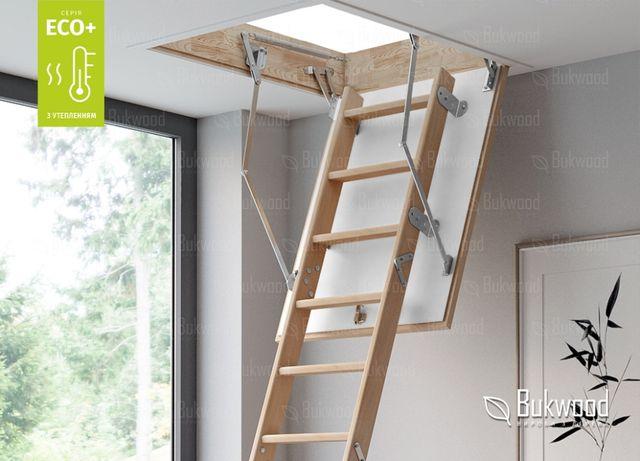 Сходи на горище, чердачные лестницы, складні сходи, дахові драбини