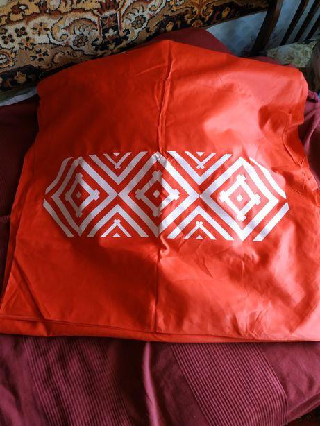 Полотно ткань красного цвета