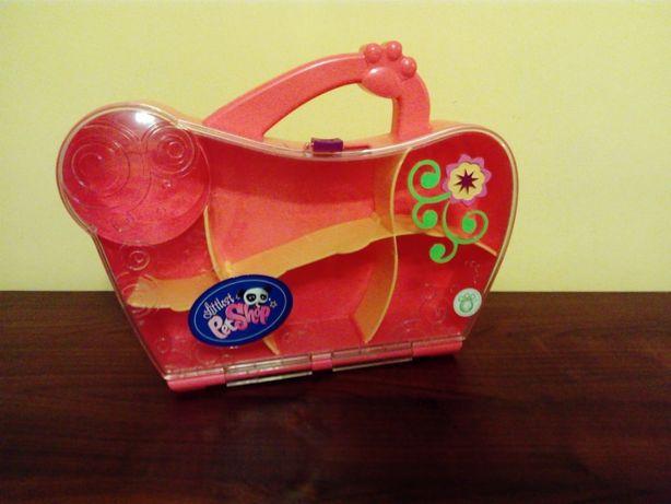 LPS walizka,domek dla figurek Hasbro 01161