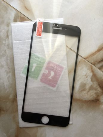 Защитное стекло на Iphone 7 plus, 8 plus,  Айфон 7+ 8+.