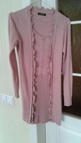 Туника-платье для беременных в подарок брошь!