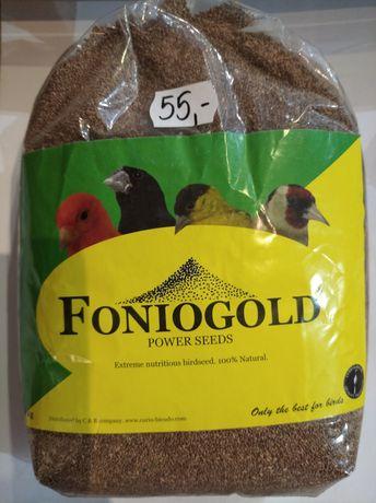 Foniopaddy foniogold  dla ptaków egzotycznych kanarków