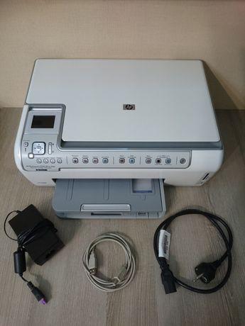 Фотопринтер МФУ HP Photosmart C5183 (6-ти цветный принтер, сканер)