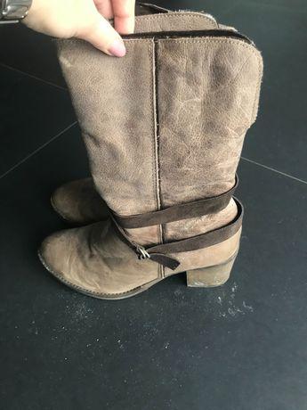 Buty damskie zimowe 38