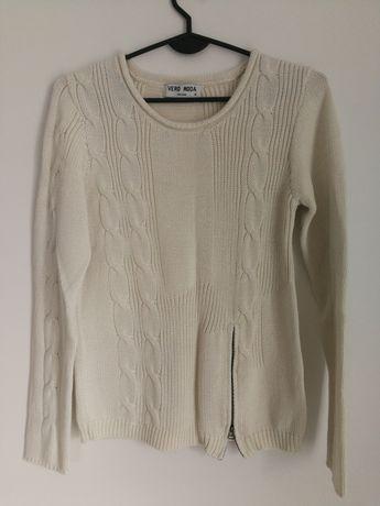 VERO MODA rozmiar M sweterek jasny