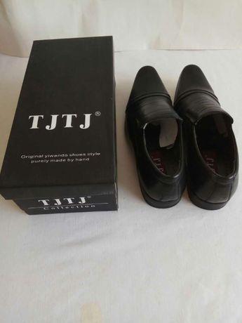 Туфли новые кожаные мужские 44 размер фирма TJTJ