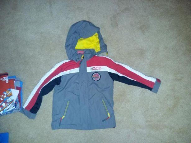 Paka dla chłopca roz 98-104,kurtka Softshell Zygzak, spodnie- 40 szt